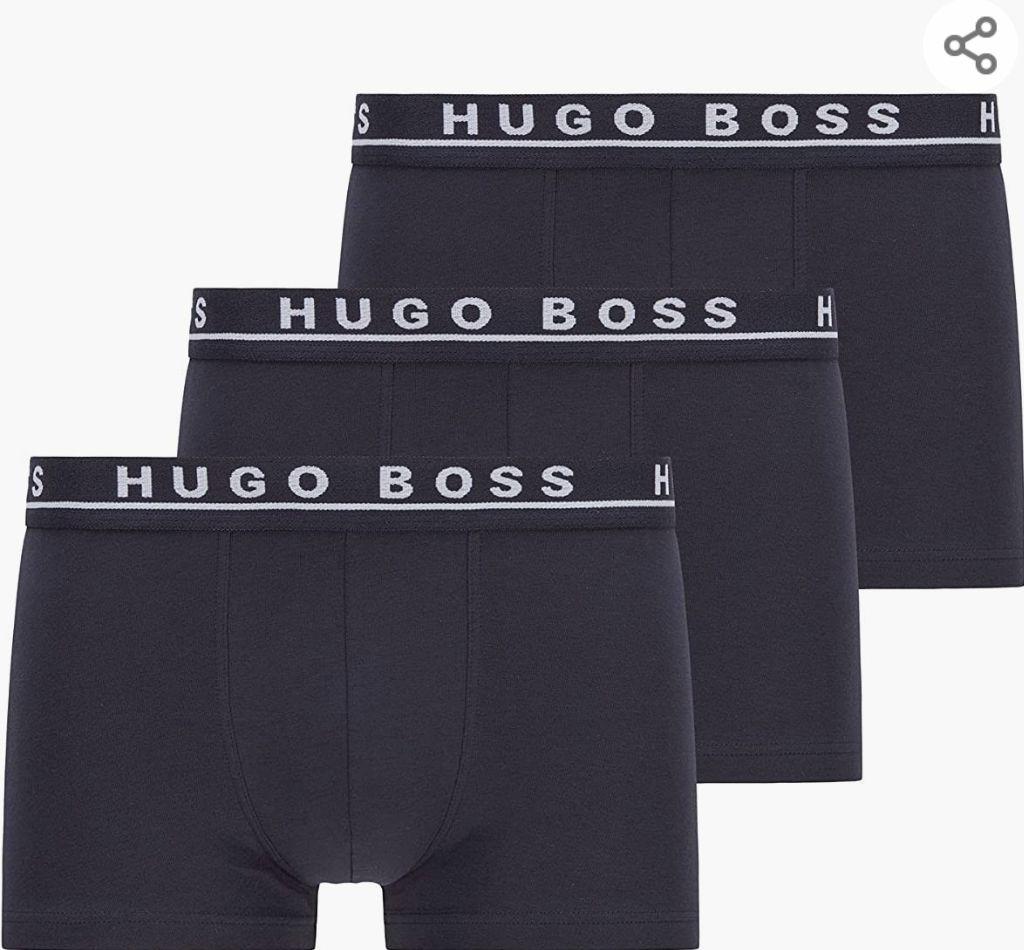 Pack 3 Bóxer hugo boss