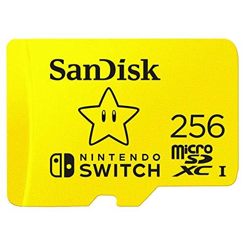 SanDisk Tarjeta para Nintendo Switch 256 GB