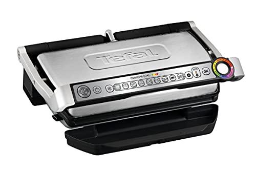 Tefal Optigrill XL GC722D - Plancha Grill 2000W, 9 modos de cocción y 4 temperaturas ajustables