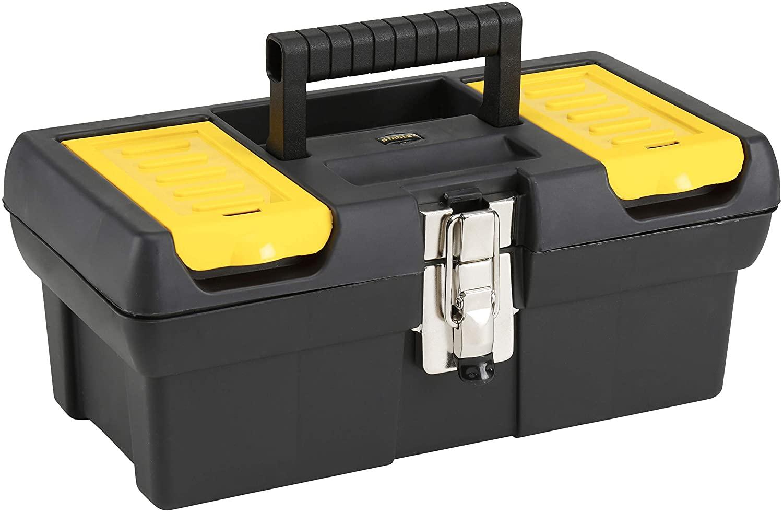 STANLEY Caja de herramientas millenium con cierres metálicos, 32cm