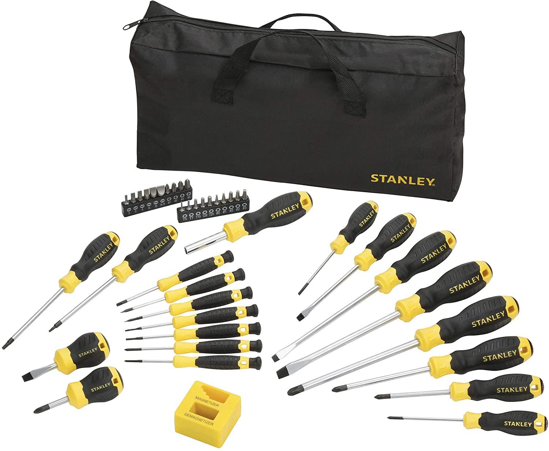STANLEY - Set de destornilladores, 42 piezas