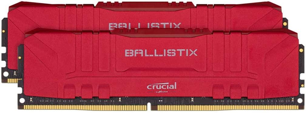 RAM Crucial Ballistix 16GB 8GBx2 DDR4 3000 CL15