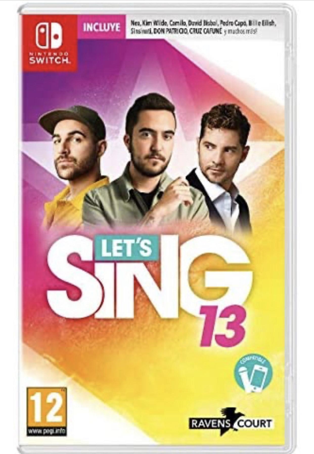 Let's Sing 13 - Nintendo Switch (oferta prime)