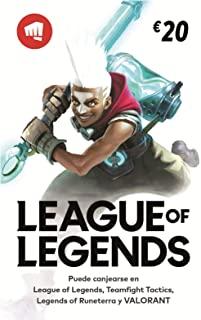 20% en créditos RIOT para Valorant y League of legends