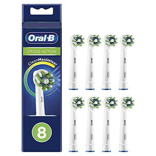 Oral-B CrossAction Cabezales de recambio - Pack de 8 unidades