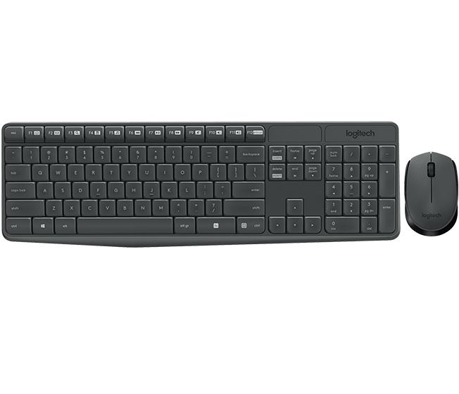 Logitech MK235 teclado + ratón solo 17.2€