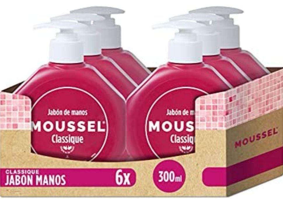 [Pack de 6] Moussel - Jabón de manos 300 ml