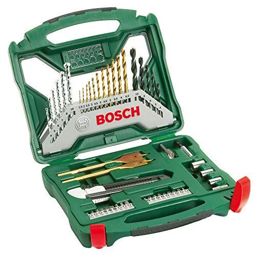 Bosch Maletín X-Line con 50 unidades para taladrar y atornillar
