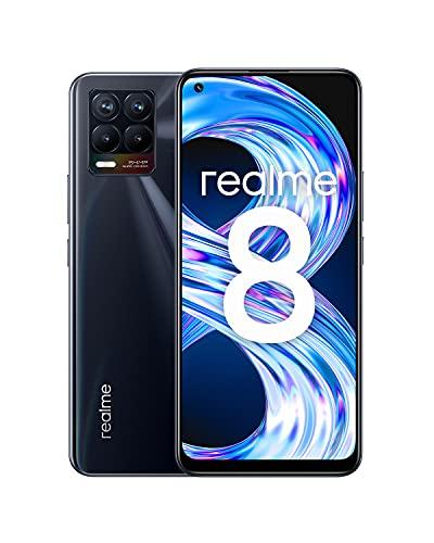 Realme 8 AMOLED, Carga Dart de 30W, Batería 5000 mAh, Dual Sim, NFC, 4+64GB