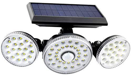 Luz solar para exteriores 70 LEDS IP65