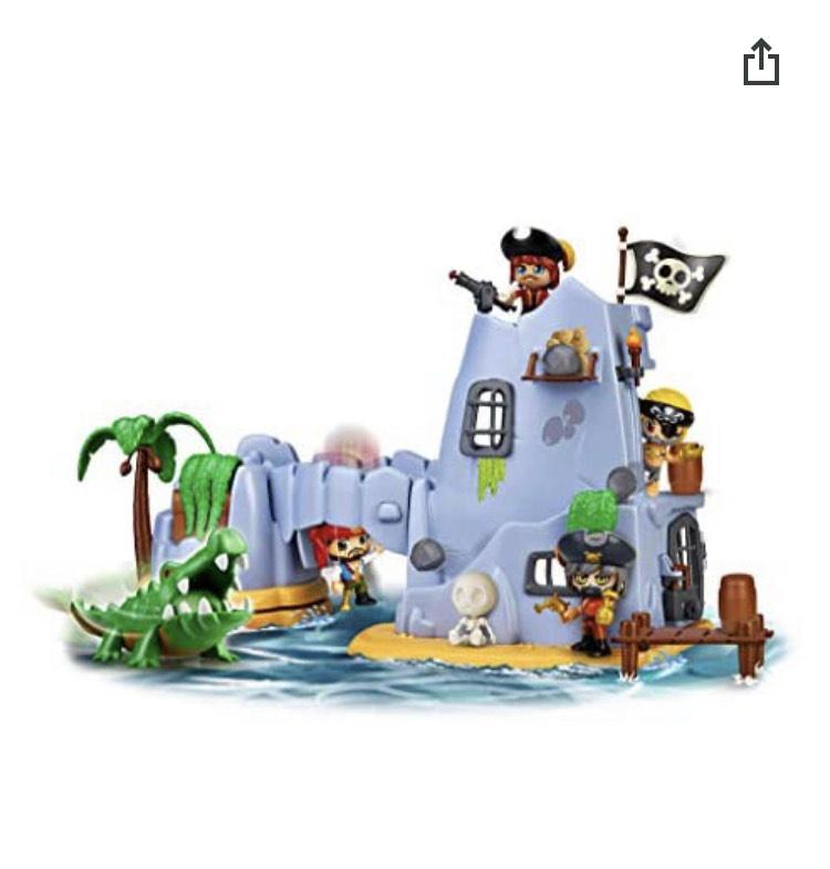 Pin y pon isla pirata