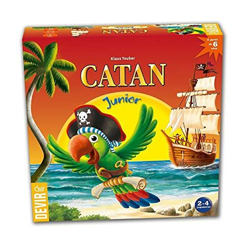 Catan Junior, Juego de Mesa, en Castellano, catalán y portugués