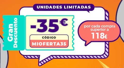 Código Aliexpress -35 € de 118 €