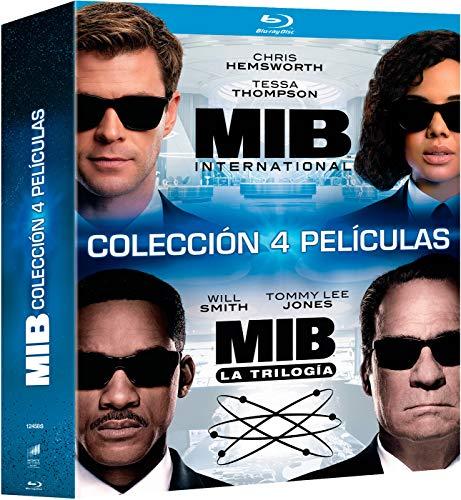 MIB pack 4 películas bluray