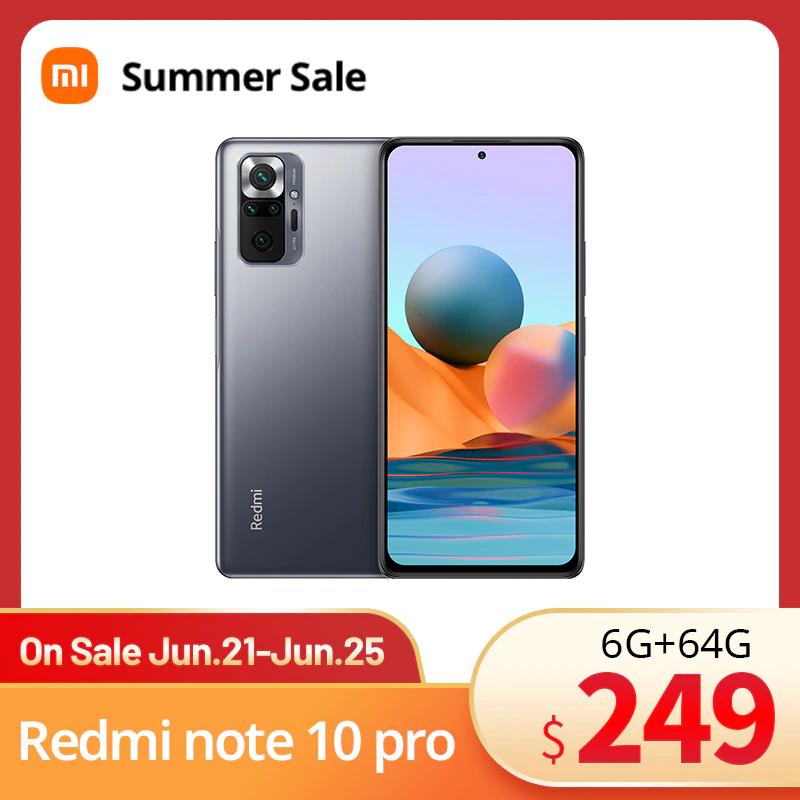 Redmi Note 10 Pro 6/64 desde España por 170,54€