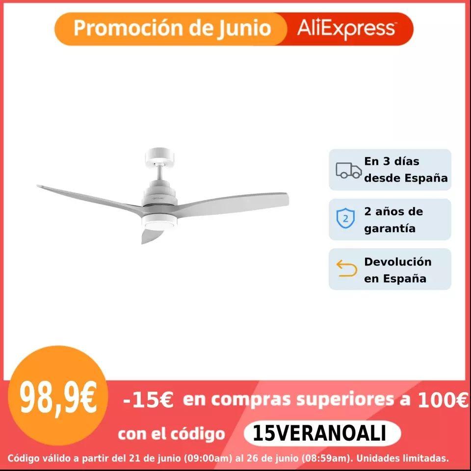 Cecotec Ventilador de Techo EnergySilence Aero 5200-5250