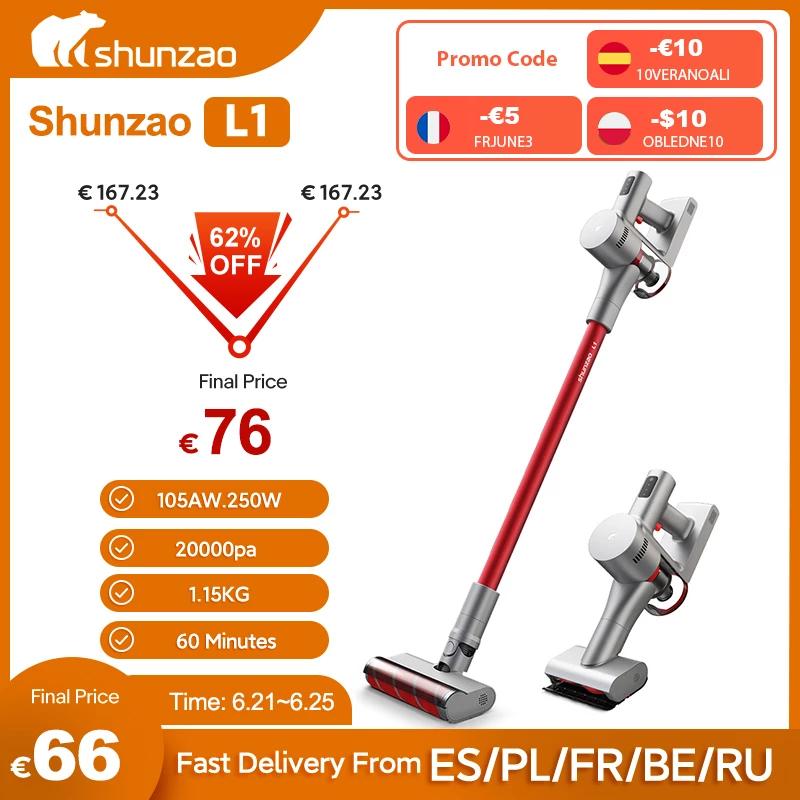Aspiradora shunzao L1 (envío desde España)