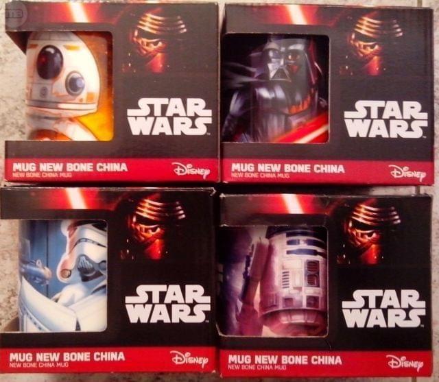 Tazas Star Wars Carrefour