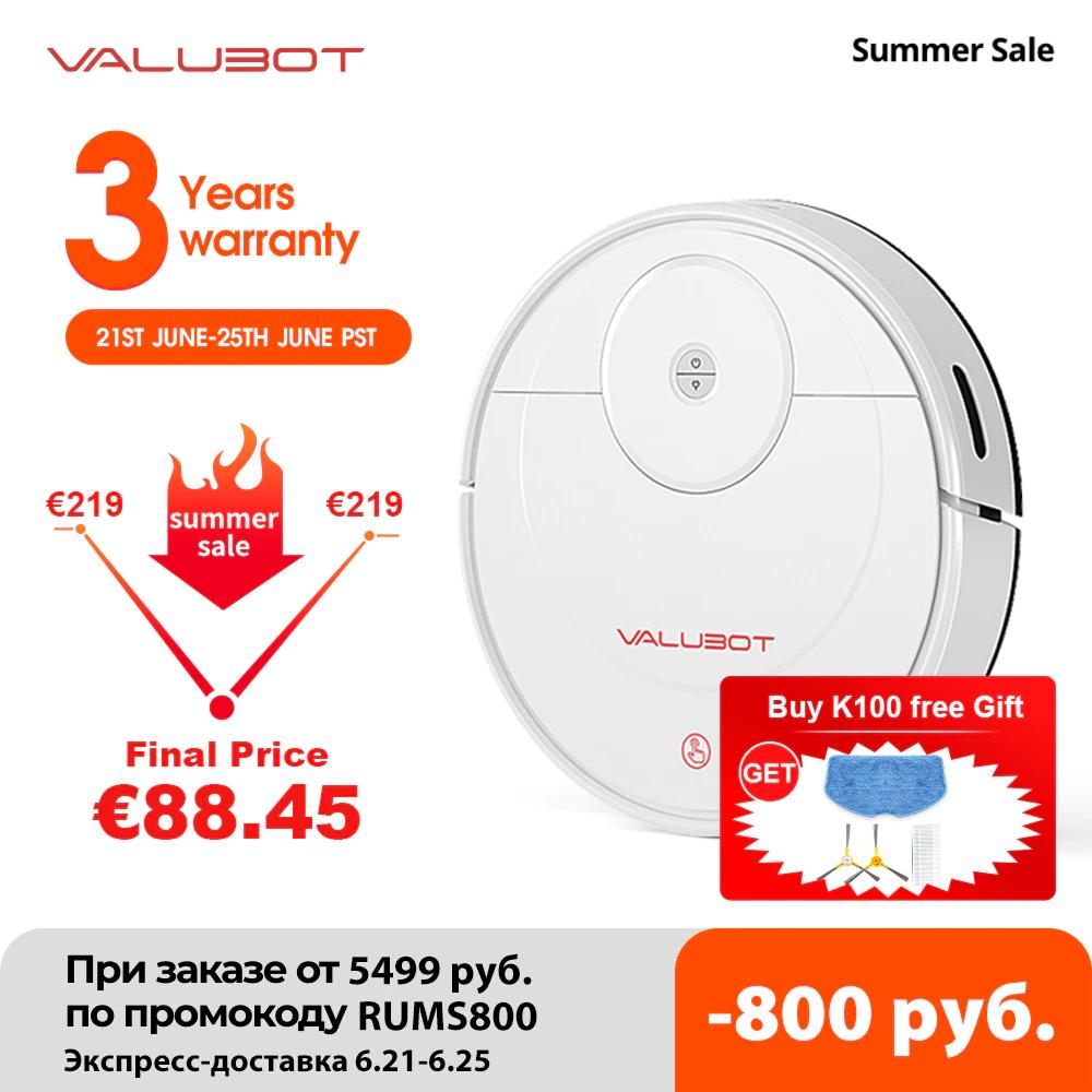 VALUBOT K100 Robot aspirador Wi-Fi para pelo de mascotas, Limpiador, aplicación de control remoto inalámbrico por 68€