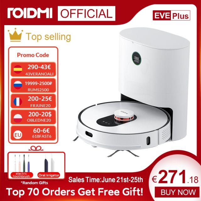 ROIDMI EVE Plus-Robot aspirador