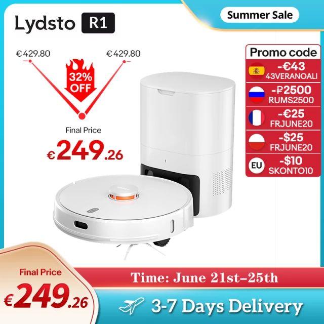 Lydsto-Robot aspirador R1
