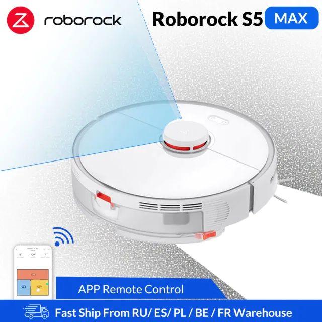 Roborock – Robot aspirador inalámbrico S5 max