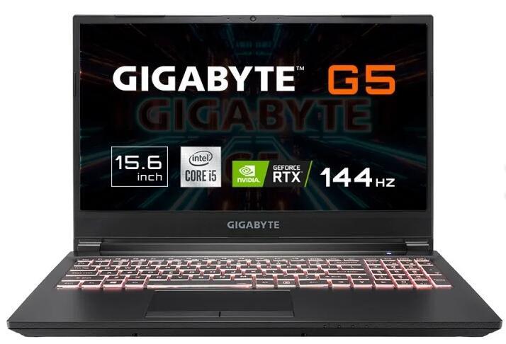"Gigabyte G5 KC-5ES1130SD Intel Core i5-10500H/16GB/512GB SSD/RTX 3060/15.6"""
