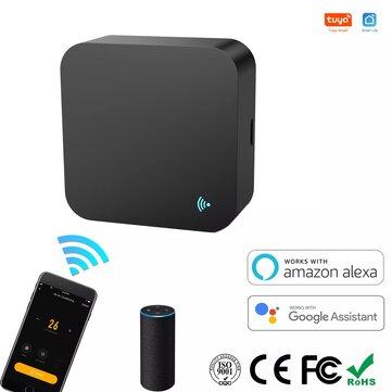 Tuya Smart WIFI Control remoto por infrarrojos Control remoto inalámbrico universal TV DVD AUD AC Trabaja con Alexa Google Home