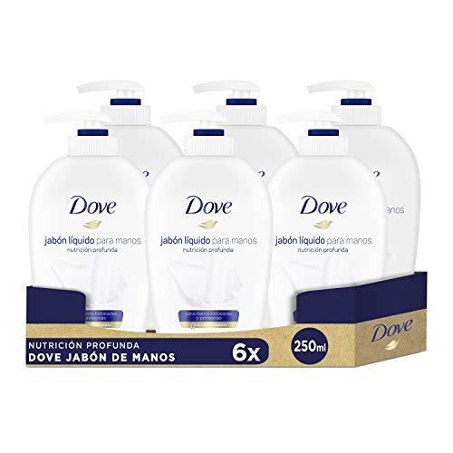 Pack 6 jabones de manos Dove