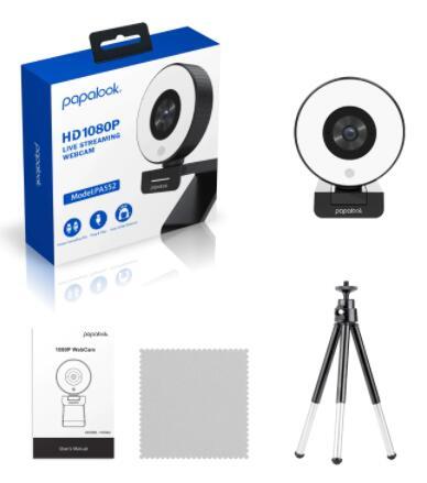 Webcam PAPALOOK PA552 1080P - Desde España