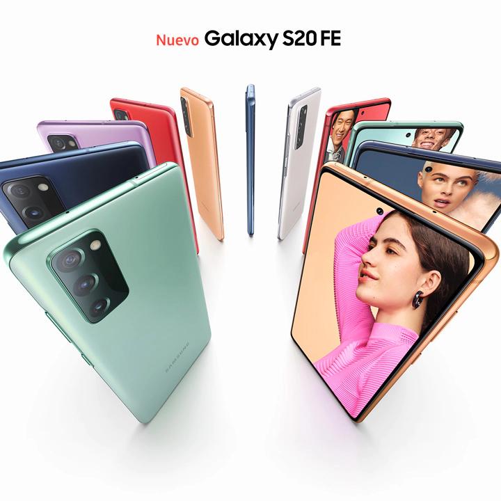 Samsung S20 FE 4G (Snapdragon) SM-G780G + Galaxy Tab A7 al añadirlo al carrito!!
