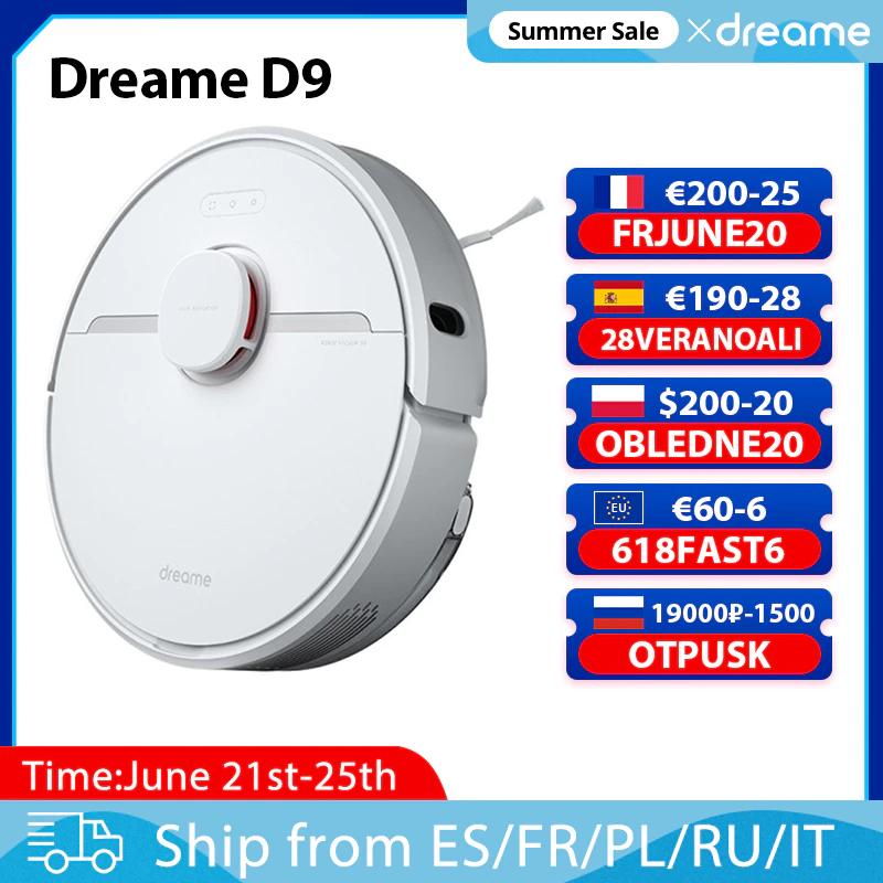 Robot Aspirador Dreame D9 -Desde España