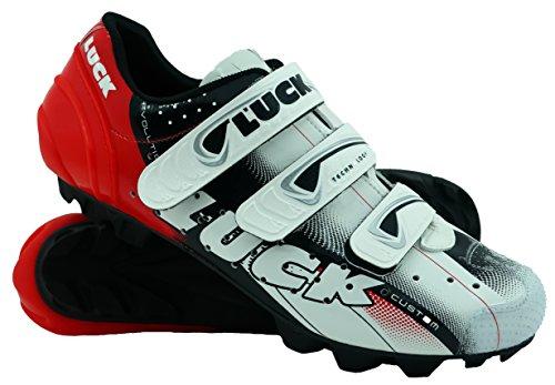 Zapatillas de ciclismo para calas Luck MTB con velcro