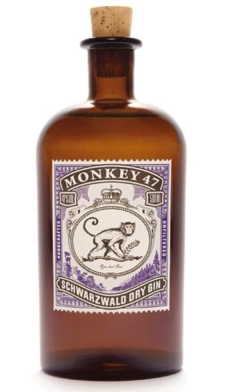 2 botellas de Ginebra Monkey 47