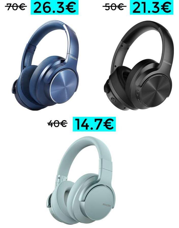 Minimazos en auriculares Mixcder