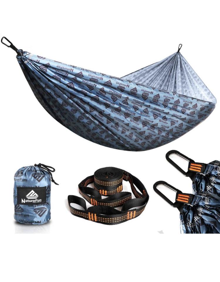 Hamaca ultraligera camping (otro modelo en descripción)