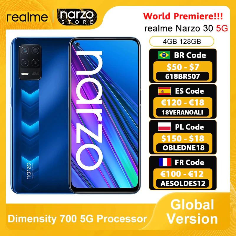 Realme Narzo 30 5G 4GB+128GB [Desde España]