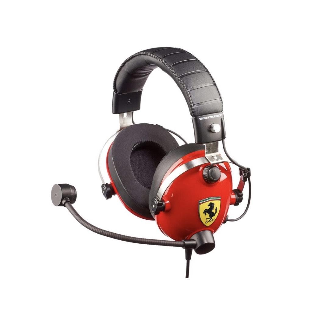 Auriculares Gaming Thrustmaster Scuderia Ferrari   Prime Day