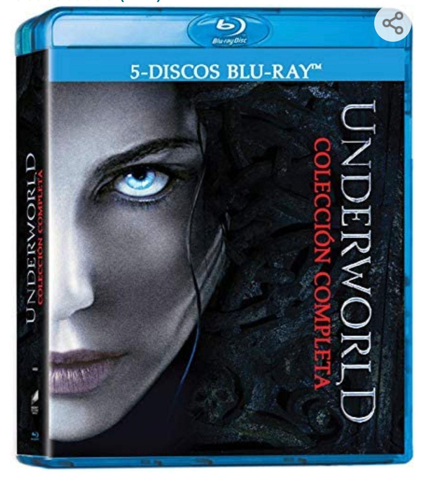 Pack Underworld bluray (con PRIME)