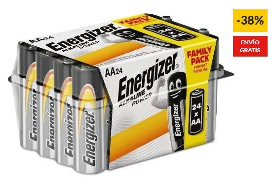 Pilas Energizer AA LR06 (Paquete de 24) + envio gratis