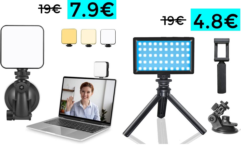 Preciazos en focos LED (Ej: Foco LED 3 colores 7.9€)