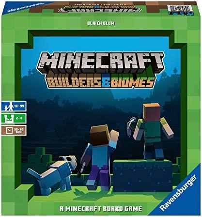 Minecraft Builders & Biomes - Juego de Mesa