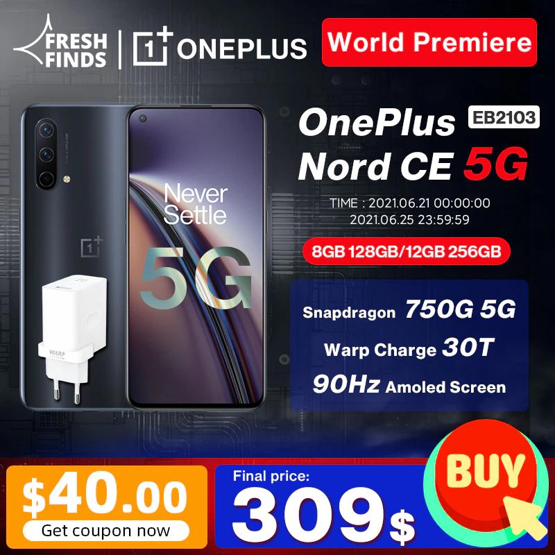OnePlus Nord CE 5G 12/256 y 8/128 258,97€ - Desde España PAYPAL