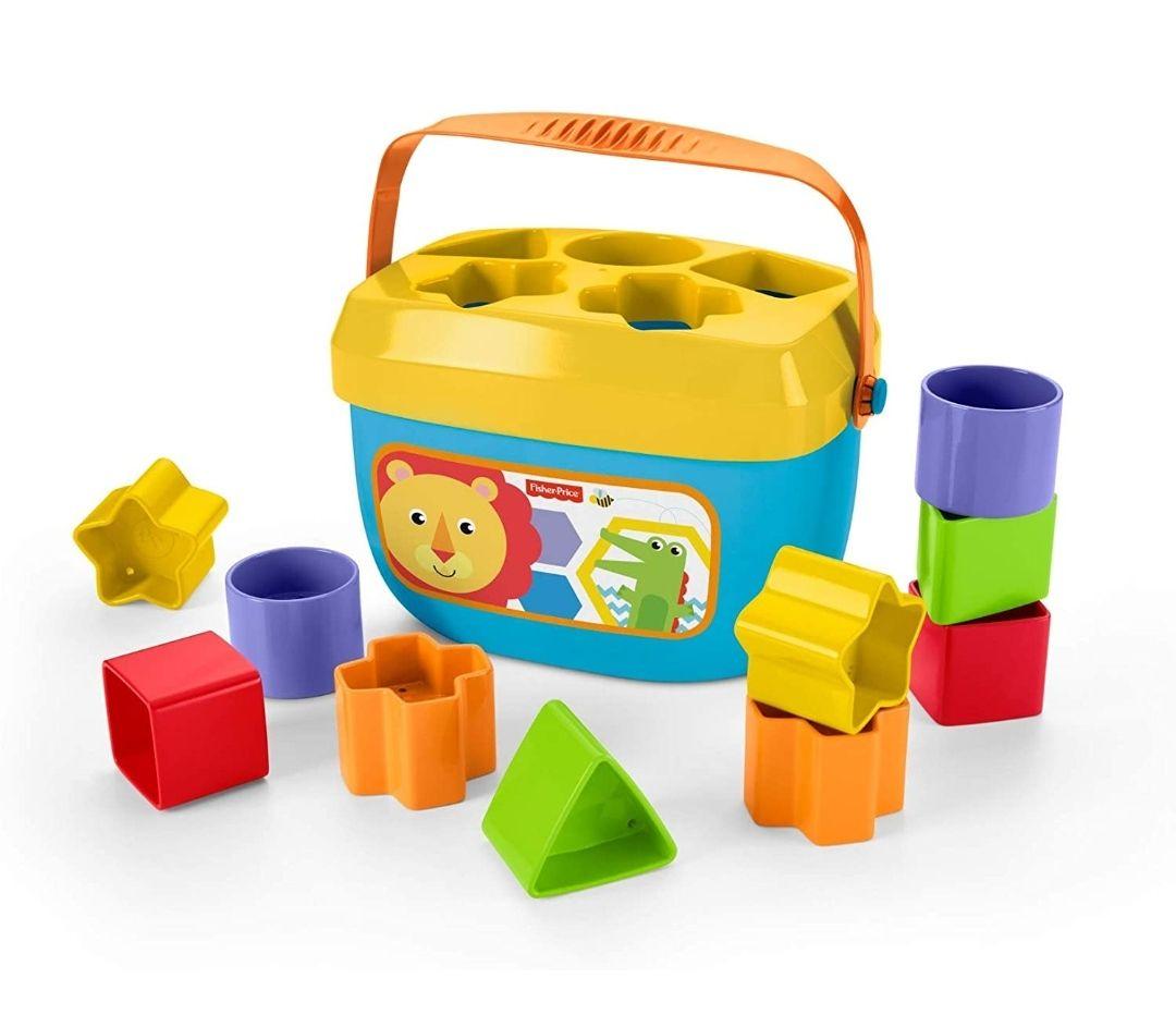 Fisher-Price Bloques infantiles, juguete bloques construcción para bebé +6 meses