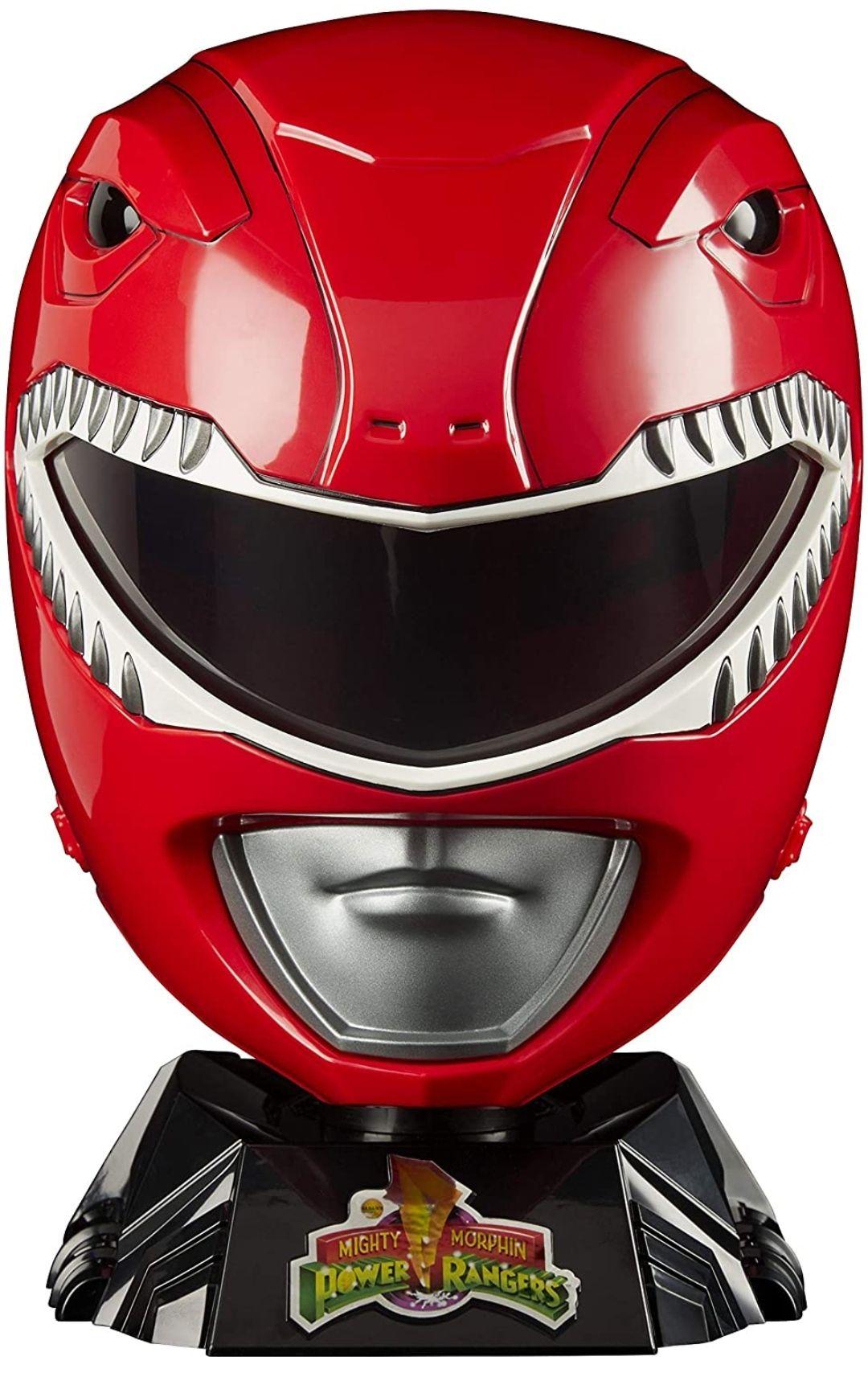 Hasbro Power Rangers- Lightning Collection Casco Ranger Rojo