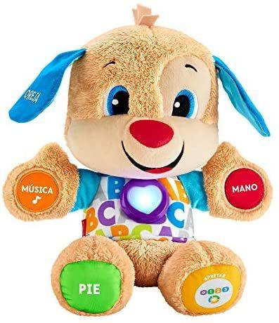 Fisher-Price Perrito primeros descubrimientos, juguete bebé +6 meses