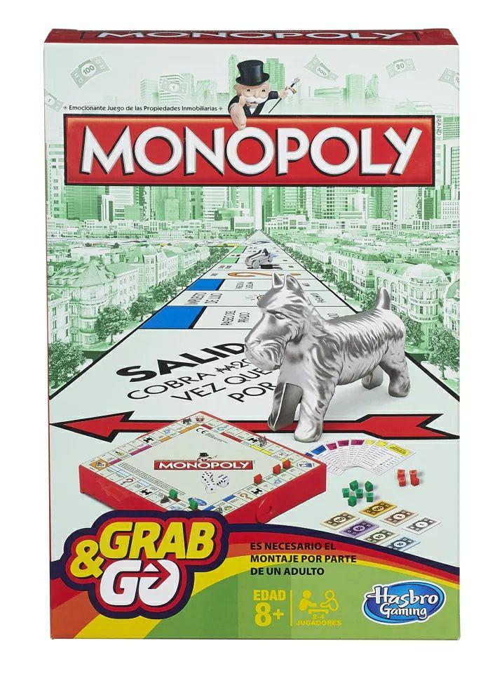 Monopoly Viaje | Juego de mesa +8 años | Envío desde España