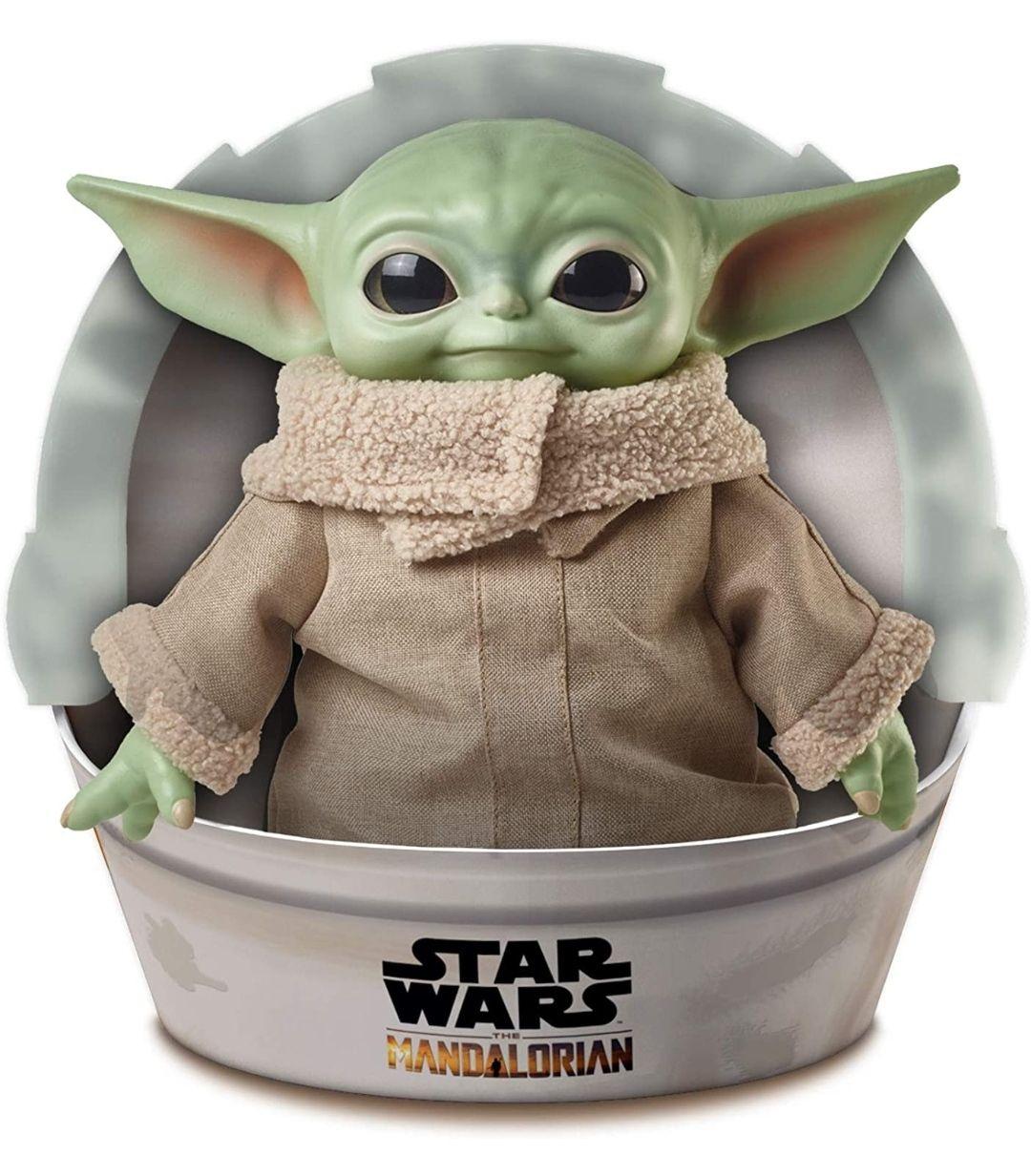 "Grogu ""Baby Yoda"". Figura de Peluche de 28 cm"