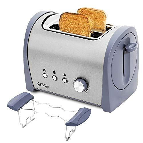 Cecotec Tostadora Acero Steel&Toast 2S