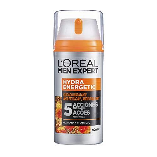 L'Oréal Men Expert, Crema Hidratante Anti-Fatiga 24h Hydra Energetic, 100 ml